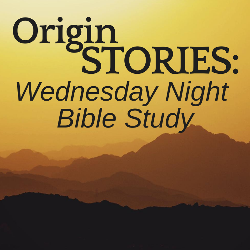 Origin Stories Bible Study