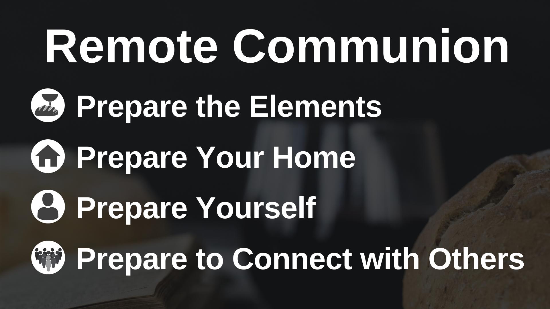 Remote Communion 16 9