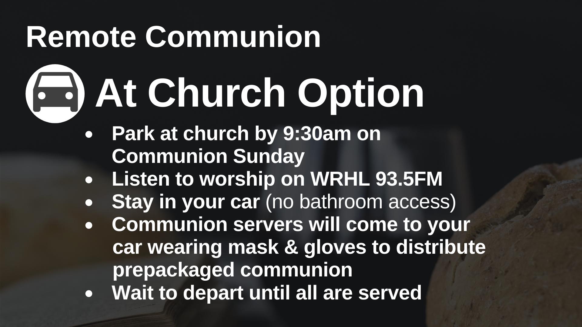 Remote Communion 16 9(1)